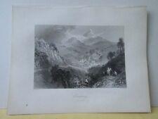 Vintage Print,ENNISKERRY,Scenery of Ireland,Bartlett