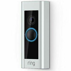 Brand New Ring WIFI Video Door Pro Bell Hardwired Doorbell Work with Alexa