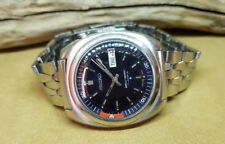 RARE VINTAGE SEIKO BELL MATIC BLUE DIAL DAYDATE AUTO 4006A MAN'S WATCH