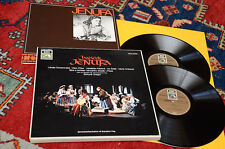 JANACEK JENUFA BOX 2LP + BOOK ORIG GERMANY '70 MINT UNPLAYED MAI SUONATI TOP EXP