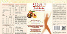 Diät Shake im Diät Paket zum Abnehmen 25 Mahlzeiten und Abnehmplan von Reduzin