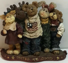 Boyds Bears & Friends The Bearstone Collection Feb. 2004 # 3961 United We Stand