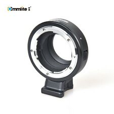 Commlite Aperture Mount Adapter for Nikon A F G D Mount to M4/3 MFT GH5 Camera