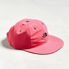 THE NORTH FACE THROWBACK TECH CAP 6-Panel HAT Nylon Wide Brim PINK Raspberry Red