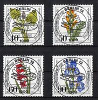 Berlin 650 - 653 zentrisch Vollstempel gestempelt Ersttags Sonderstempel used