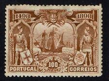 PORTUGAL 1898 Vasco da Gama 100 reis Orange Brown Original Gum  CE154 Sct 153