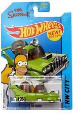 2014 Hot Wheels #89 HW City Tooned II The Simpons The Homer