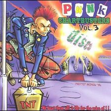 Punk Chartbusters Vol. 3 - Various (2 CD SET) Brand New