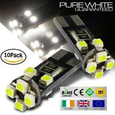 10x T10 W5W 501 Wedge CanBus LED No Error Free HID Xenon White Bulbs Side Lights