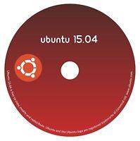Linux Ubuntu Server 15.04 Vivid Vervet 64 Bit DVD