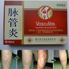 6 Pcs Spider Veins Varicose Treatment Plaster Patch Vasculitis Herbal Patches