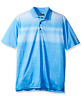 Jack Nicklaus Men's Short Sleeve Polo Front Panel Texture Print Size: S M L XL