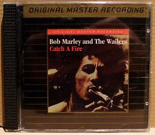 MFSL GOLD CD UDCD-654: BOB MARLEY & WAILERS - Catch A Fire - 1995 OOP UDII USA