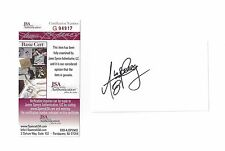 PACKERS Aaron Rodgers signed 3x5 index card JSA COA AUTO Circa 2004 Cal Bears