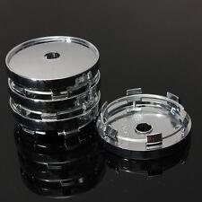 4pcs Universal Car Wheel Tire Center Hub Cap Sticker 60mm Plastic Plating Cover