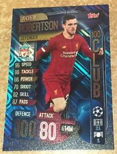 Match Attax Champions League 2019/20 Extra Andrew Robertson 100 Club card