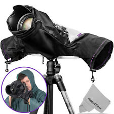 Camera Rain Cover for Canon Nikon DSLR Rain Sleeve Protection by Altura Photo®