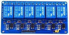 6 Channel 3.3V/5V 10A Relay Module for Arduino RPi ESP8266 +Optocoupler