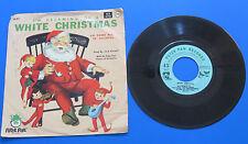 "JACK RUSSELL ~ WHITE CHRISTMAS ~ 7"" SINGLE VINYL 45 RPM RECORD ~"