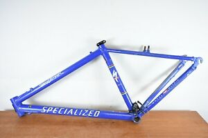 "Specialized Stumpjumper Mountain Bike Frame 18"" Medium 26"" M2 Sworks Blue"