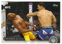 2015 Topps UFC Chronicles #275 Weidman vs Silva