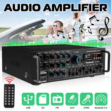 2000W HiFi Verstärker Auto Home bluetooth Vollverstärker Amplifier Digital FM