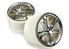 TRAXXAS 5172X Cerchi Split Spoke/WHEELS SPLIT SPOKE CROME TRAXXAS