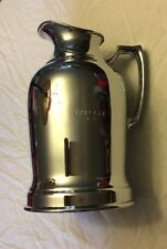 """Vintage Grand Silver Co """"Wear Brite Thermal Pitcher-Engraved """"Barclay N.Y."""""""