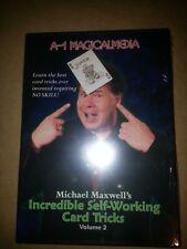 Incredible Self Working Card Tricks Volume 2 by Michael Maxwell - Magic Dvd