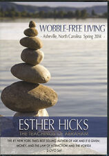 Abraham-Hicks Esther 2 DVD WOBBLE-FREE LIVING - NEW