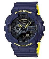 Casio G-Shock Layer Colours Blue/Yellow Analogue/Digital Watch GA110LN-2A GA-110