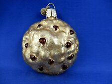 Chocolate Chip Cookie Old World Christmas Ornament Glass Baker Food NWT 32143