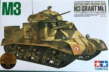 Tamiya 35041 British M3 Grant MkI Tank Tamiya Masterpiece Models 1:35 Scale Kit