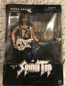 "This Is Spinal Tap Derek Smalls 12"" Action Figure By Sideshow 2000, Never Opened"