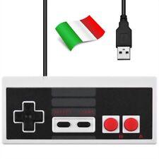 NINTENDO NES USB CLASSIC JOYPAD CONTROLLER PER PC E MAC