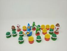 Nintendo Super Mario Chess Game Replacement pieces 2009 Lot of 23