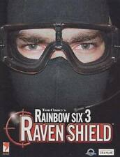 Tom Clancy's Rainbow Six 3: Raven Shield (PC, 2005) Limited Edition