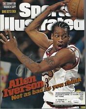 Allen Iverson Signed SI Sports Illustrated JSA COA