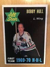 1970-71 OPC O-Pee-Chee Hockey Card #235 Bobby Hull Chicago Blackhawks EX/MT