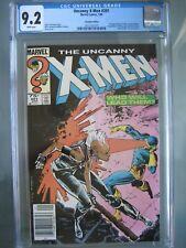 Uncanny X-Men #201 Canadian Edition UPC CGC 9.2 WP Marvel 1986 1st app Cable
