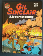 Gil Sinclair 2 EO Le Carnet rouge Walli Bom Lombard