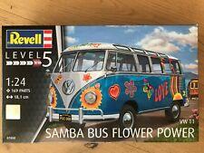 +++ Revell 07050 VW T1 Samba Bus Flower Power 1:24 07050