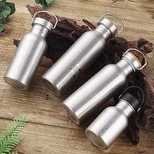 Trinkflasche Sportflasche Wasserflasche Doppelwandige Flasche aus Edelstahl