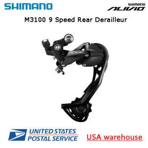Shimano Alivio RD-M3100 SGS Shadow 9 Speed Rear Derailleur MTB