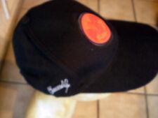 Cap / Basecap in Schwarz/Rot mit Fledermaus- BAT-LOGO Stickung BACARDI / NEU