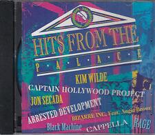 Hits From The Palace CD Kim Wilde Captain Hollywood Jon Secada Bizzare Inc
