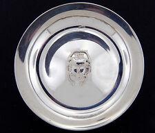 Egyptian Collectible Silver Deco Bowl with Scarab Center Design 900 Silver