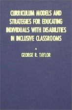 Curriculum Models and Strategies for Educating Individuals With-ExLibrary
