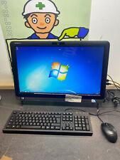 Dell Inspiron One 2310 PC Touchscreen Keyboard Win7 Desktop Webcam Wi-fi AIO UK
