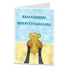 Nueva tarjeta de bebé niño niña felicitaciones nacimiento Funny Peculiar Diseño Fresco